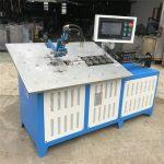 venda en calent 3d automàtica de filferro d'acer que forma la màquina CNC, el preu de la màquina de flexió de filferro 2d