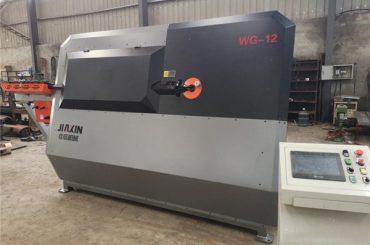 màquina de doblatge de filferro d'acer inoxidable 2D d'alimentació automàtica i cnc