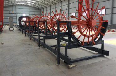 Màquina de fabricació de soldadures de jaula d'acer de pila de reforç CNC