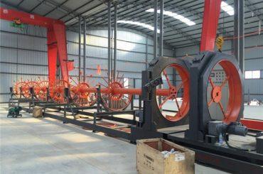 cnc acer gàbia soldadura màquina soldadura de soldadura de rol d'acer ús per a la construcció