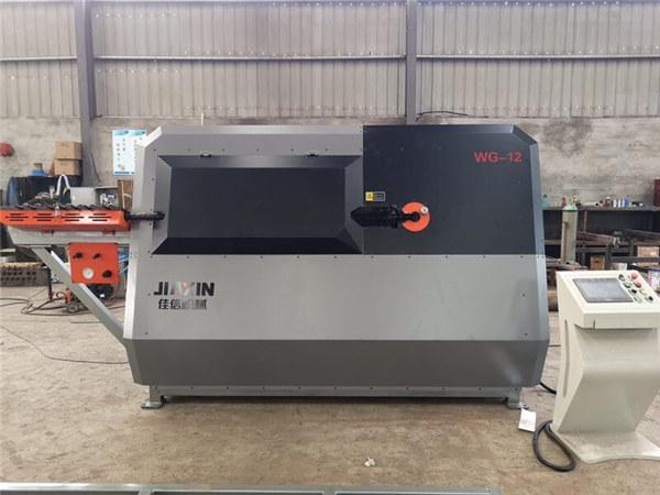 fabricant xinès 4-12mm de filferro d'acer automàtic de control CNC, màquina de plegat de barres