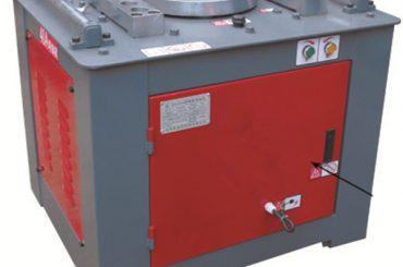 màquina doblegadora hidràulica de tubs d'acer inoxidable, tubs quadrats / corredisses per a la venda