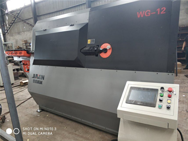 equips de maquinària industrial de barra deformada fabricats en Xingtai Automatic Stirrup Bender